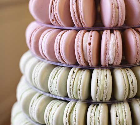 French Macarons from Sweet Life Bakery and Cafe