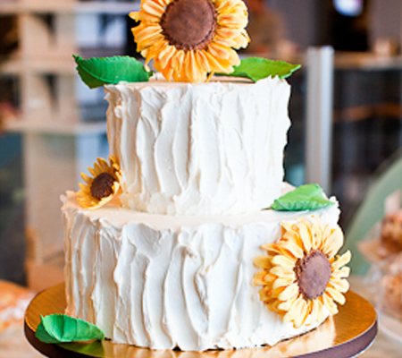 Specialty cakes from Sweet Life Bakery and Cafe