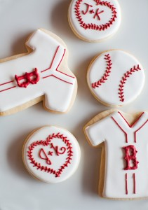 Red sox cookies